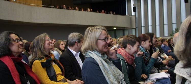 Deltagere til Marte Meo konference i Freiburg i Tyskland.