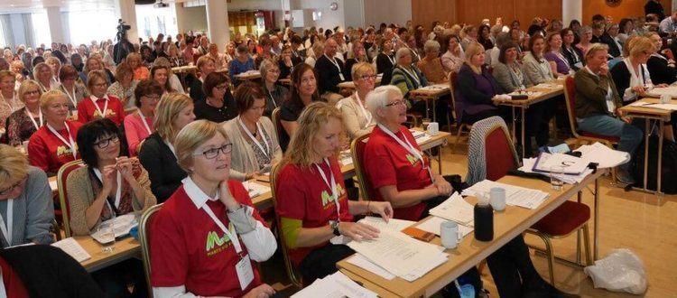 Deltagere på nordisk Marte Meo kongres i Bergen