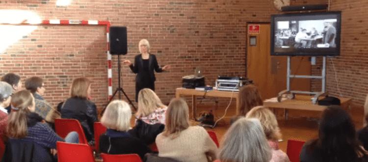 Foredrag for lærere om MarteMeo uddannelse i skolen