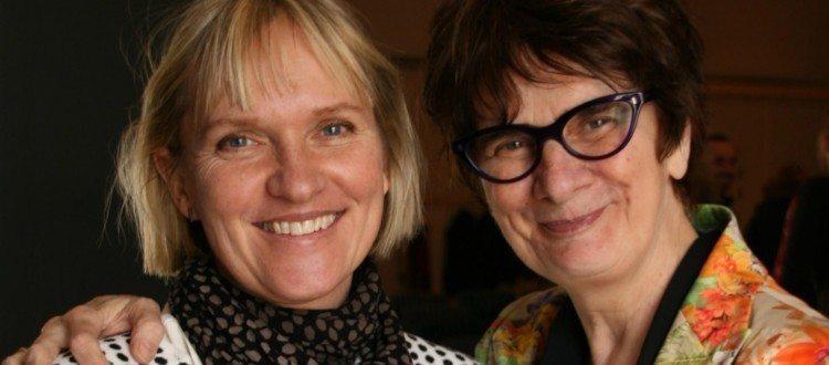 Mød Maria Aarts i Malmø. Her ses Maria sammen med Mari Mattsson. Marte Meo Uddannelsen.